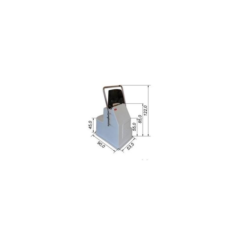 Конзола със седалка 122х90х53,5см