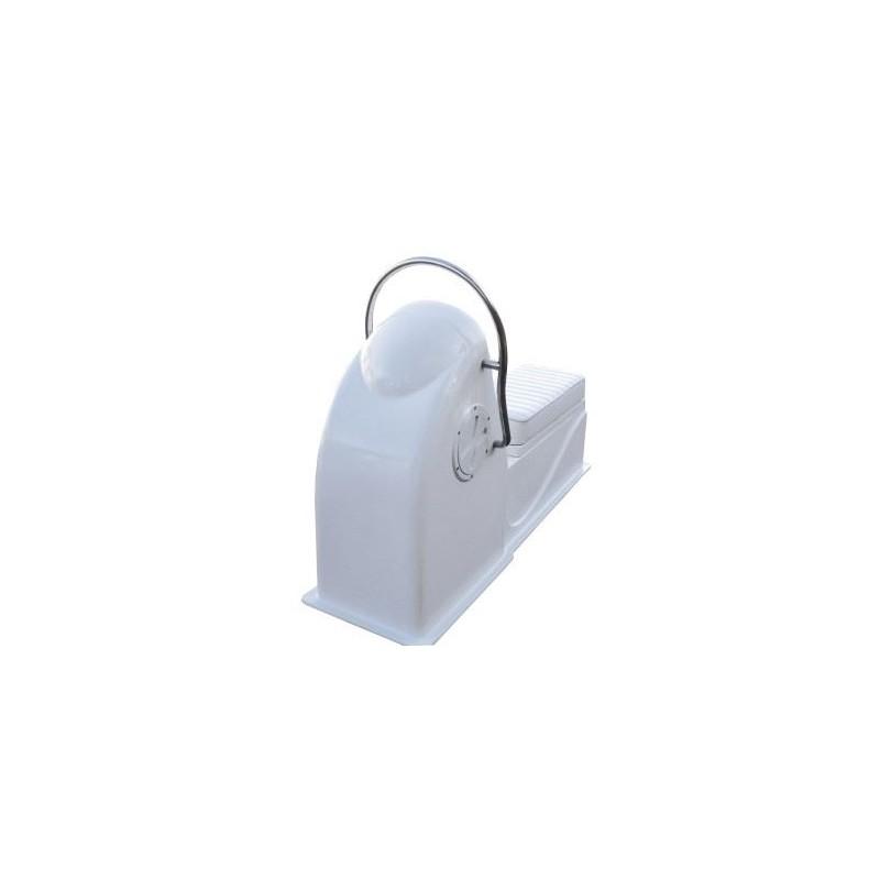 Конзола овална тип JET 136x41x90см