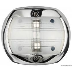 Светлина навигационна inox 12V 10W-Бяла светлина, топова