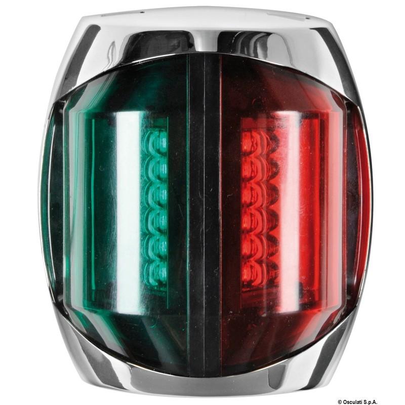 Светлина биколорна LED 12V inox