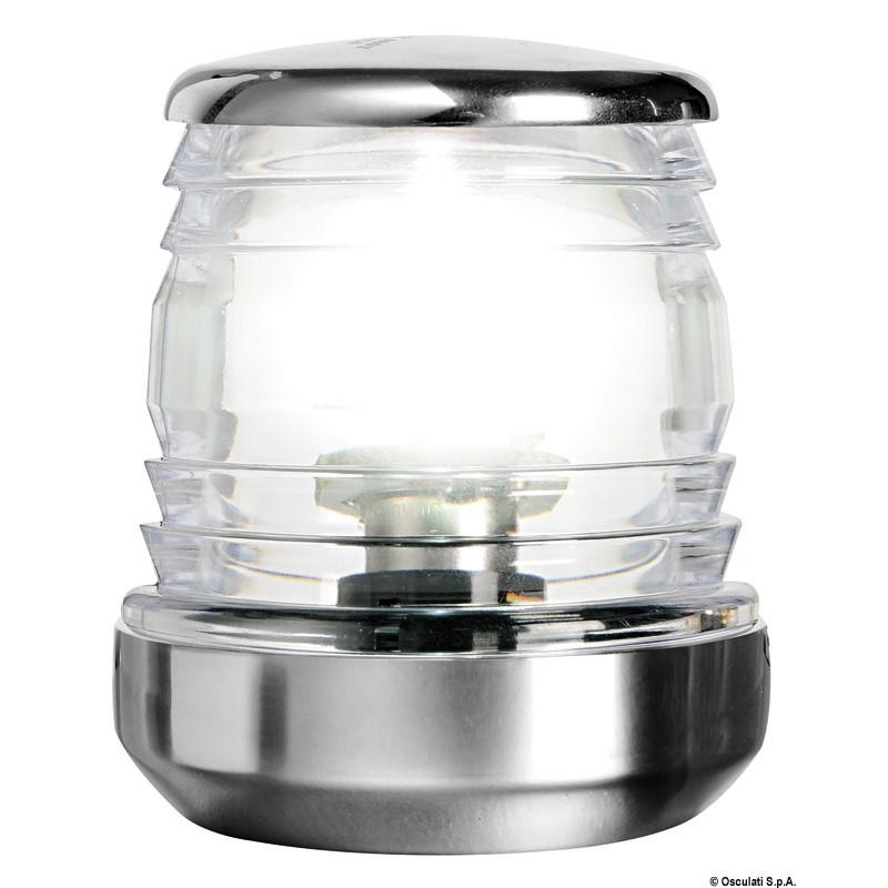 Светлина навигационна кръговидима LED inox