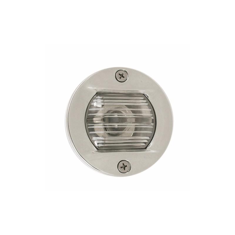 Светлина кърмова вградена 12V 7.5W inox