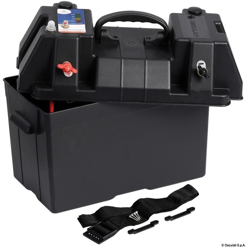 Кутия за акумулатор с директно свързване LED индикатор