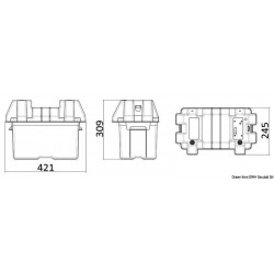 Кутия за акумулатор с директно свързване LED индикатор 4