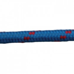 Въже полиестер, плетено, двуцветно, ф4-14мм