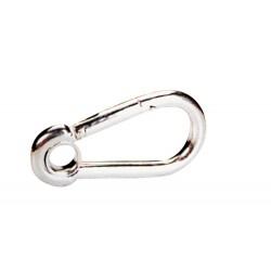 Kарабина с ограничителен пръстен inox