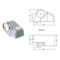 Хоризонтален котвен шпил 12V 300/600/1100W
