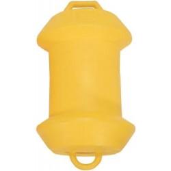 Буй макара пластмаса 47x27cm-Жълт