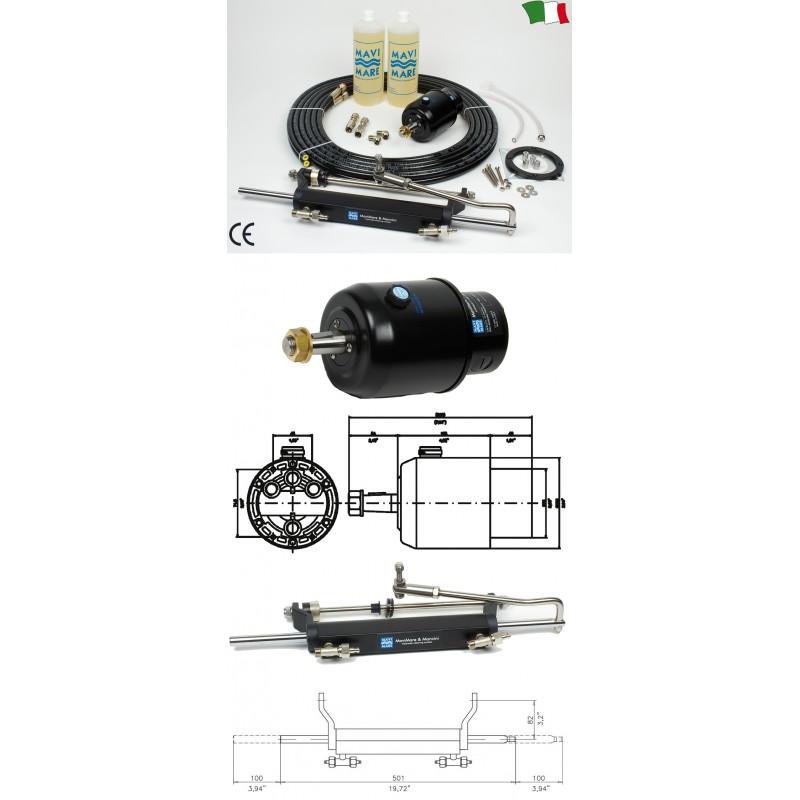 Хидравлична С-ма за управление GF150R за извънб. двигател до 150HP