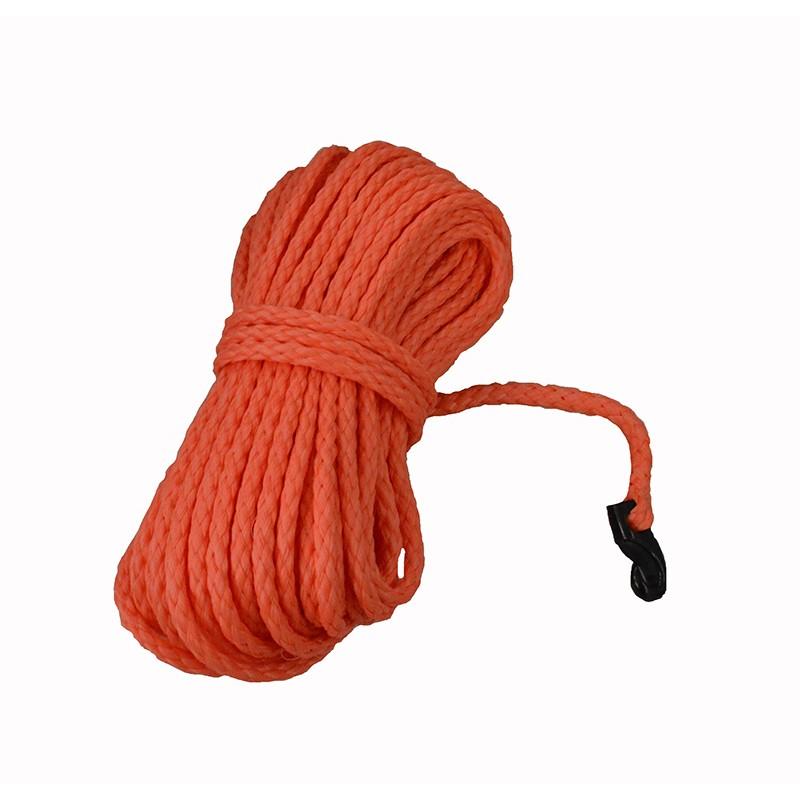 Въже хвъргално - оранжев цвят