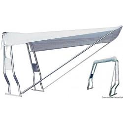 Тента за roll-bar inox 316 телескопична Италия - Цветове: бял или морско син