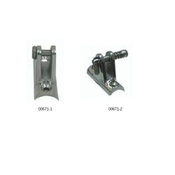 Основа за тента овална inox 316 - С болт 1