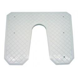 Транцева платка 445х363х20мм пластмаса