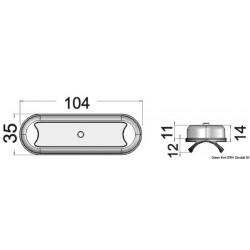 Светлина LED за roll-bar/тента 2