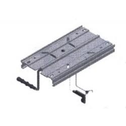 Поставка за седалка алуминий/пластмаса 2