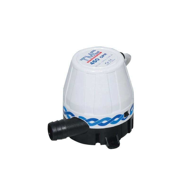 Помпа за изпомпване на трюмна вода ТМС 450-1250GPH 12V Тайван