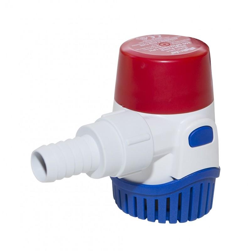 Помпа за изпомпване на трюмна вода RULE 500-3700GPH 12/24V САЩ