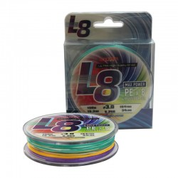 Плетено влакно модел Lazer PE L8 Multicolour - 300м