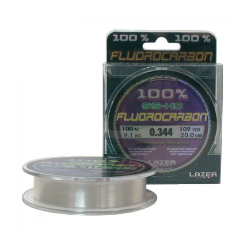 Lazer Fluorocarbon SS-HD - 100m - кристално прозрачен.