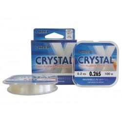Флуорокарбон Lazer Crystal X 100m - кристално прозрачен.