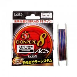 Плетено влакно модел Gosen DonPepe-8 ACS