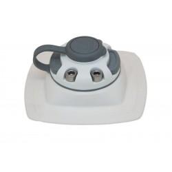 FASTen Монтажна основа за надуваем PVC борд FMp224 - черна , сива и бялa