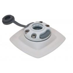 FASTen Монтажна основа за надуваем PVC борд FMp224 - черна , сива и бялa 2