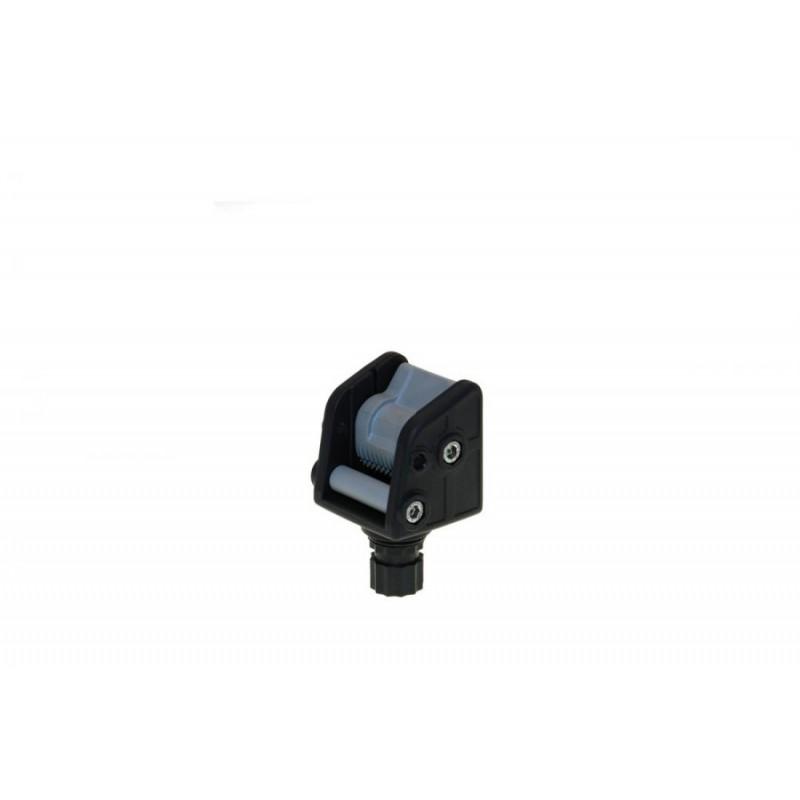 FASTen Ролка за котва до 8 kg. в комплект с монтажна основа за надуваем PVC борд Alp002 - черна