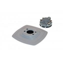 FASTen Ролка за котва до 8 kg. в комплект с монтажна основа за надуваем PVC борд Arp002 - сива 3