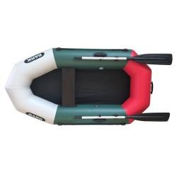 Надуваема Bark B-220 ,едноместна гребна лодка ,зелена