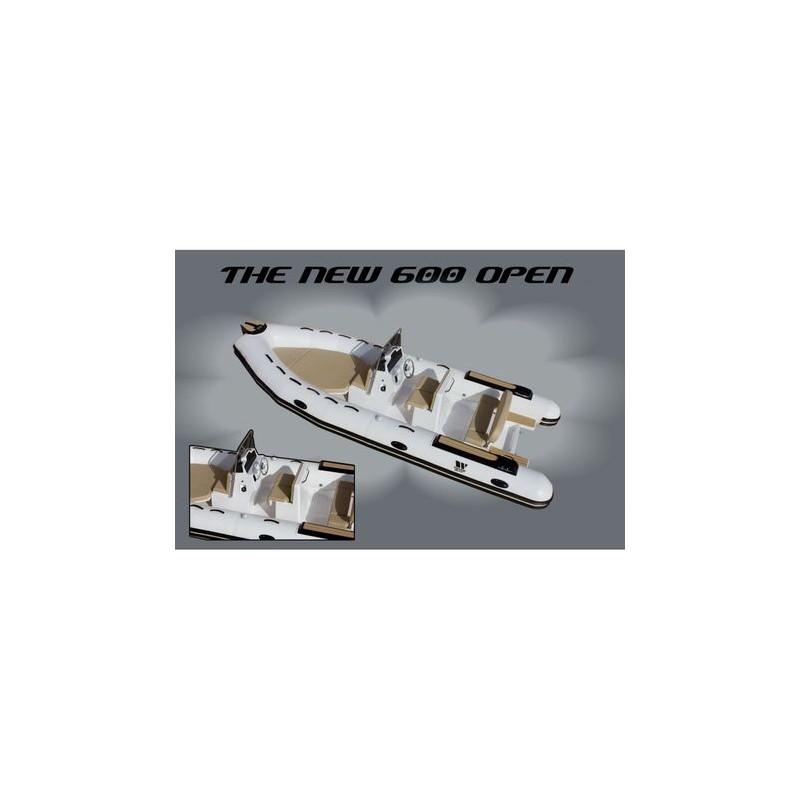 РИБ Лодка Tiger marine OPEN 600-1