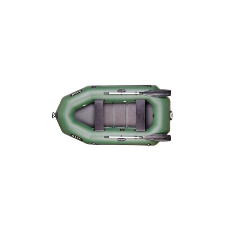 Надуваема лодка Bark B-230C ,двуместна гребна с оребрено дъно