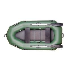 Надуваема лодка Bark B-280P,триместна гребна с оребрено дъно,буртик