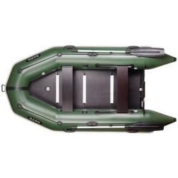 Надуваема лодка Bark BT-290S,двуместна моторна,надуваем кил и твърдо  дъно, буртик, стационарна транцева дъска