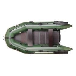 Надуваема лодка Bark BT-310,триместна моторна с оребрено дъно,буртик,стационарна транцева дъска