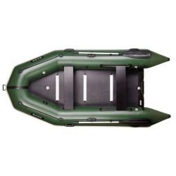Надуваема лодка Bark BT-330S,четириместна моторна.надуваем кил и твърдо дъно, буртик,стационарна транцева дъска